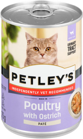 Petley's Rich in poultry with ostrich