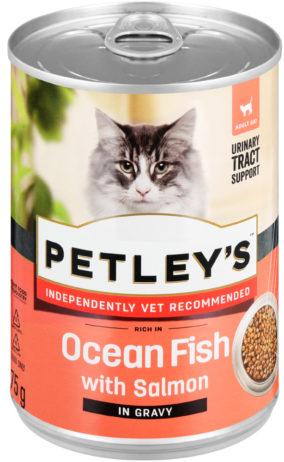 Petley's Ocean Fish with Salmon