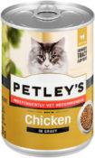 Petley's Chicken in gravy